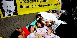 Erdoğan Uyuma, İklim İçin Harekete Geç