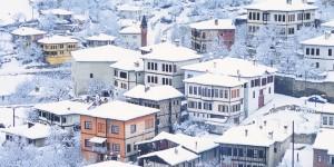 'Kar'ın En Yakıştığı Şehir; Safranbolu