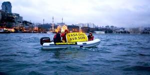 Greenpeace, Trol Devriyesi Yine İşbaşındaydı