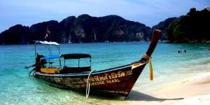 Phi Phi Adası'nda Tekne Turu Yapılır…