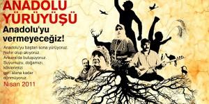Büyük Anadolu Yürüyüşü Nisan'da Başlıyor