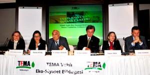 TEMA Vakfı Eko Siyaset Bildirgesini Açıkladı