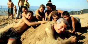 Yıllar Sonra Körfez'e Plaj Açıldı