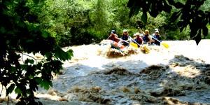 Melen Irmağı'nda Rafting