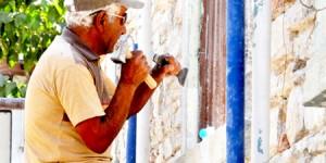 Tarihi Merkez Camii Restorasyonu Hızla Sürüyor