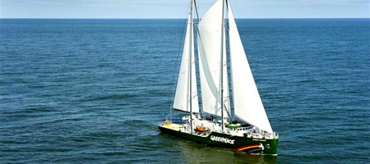 Greenpeace'den Yenilenebilir Gemi