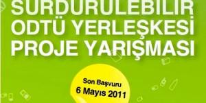 'Sürdürülebilir ODTÜ Yerleşkesi Proje Yarışması Sonrası Semineri'
