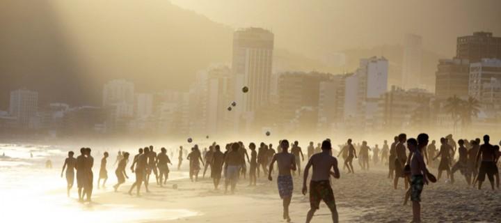 Copacabana Plajı'nda Bir Gün