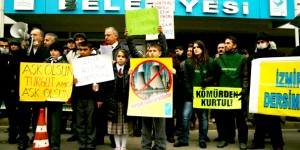 İzmir'de Termik Karşıtı Protesto