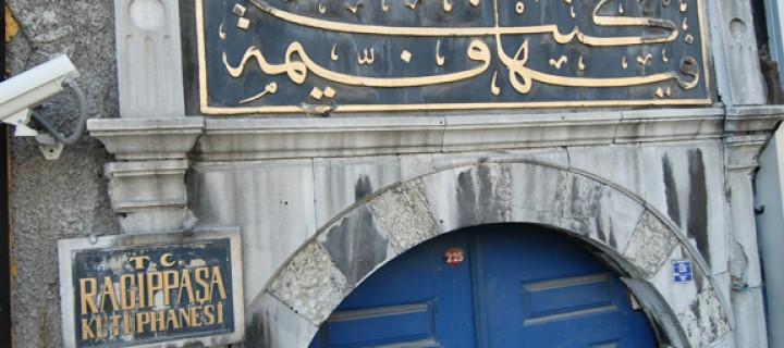 250 Yıllık Miras Ragıp Paşa Kütüphanesi Yenileniyor