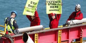 Greenpeace Eylemcileri ve 'Zeyna' Gözaltında