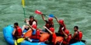 Barhal Çayı'nda Rafting