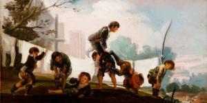 'Goya'nın Halı Desenlerinde Çocuk Oyunları'