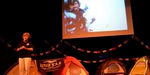 Efsane Dağcı Reinhold Messner İstanbul'da Konferans Verdi