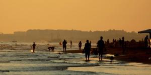 Güneş Battıktan Sonra Ilıca Sahili