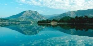 Göl, Dağlar ve Yansıma