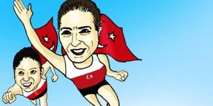 Kızlarımız Olimpiyatlarda Tarih Yazdı