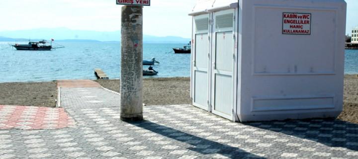 Kuzey Ege'de Bir İlk; Engelsiz Denize Giriş Platformu Açıldı