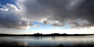 Emre Gölü'ne Yansıyan Işık