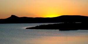 Emre Gölü'nde Güne Veda
