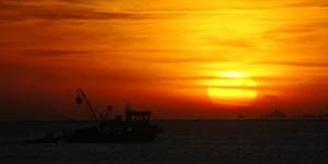 Körfez'de Günbatımı