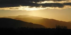 Samanlı Dağları'nda Gün Batarken