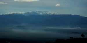 Dağlarına Kar Düşmüş Ege'nin