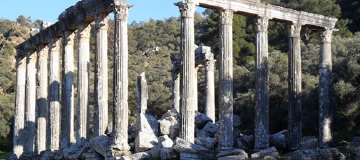 Antik Anadolu'nun Gizemli Tapınağı: Euromos – Zeus