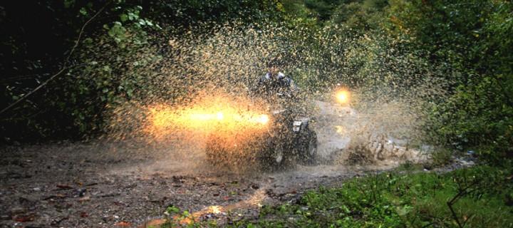 Samanlı Dağları'nda ATV Keyfi