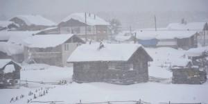 Bolu'da Kış Sürüyor