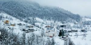 Samanlı Dağları, Kış ve Köy