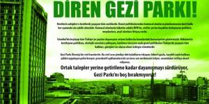Diren Gezi Parkı!