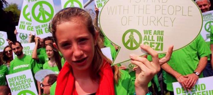 20 Ülkeden Gezi Parkı'na Destek