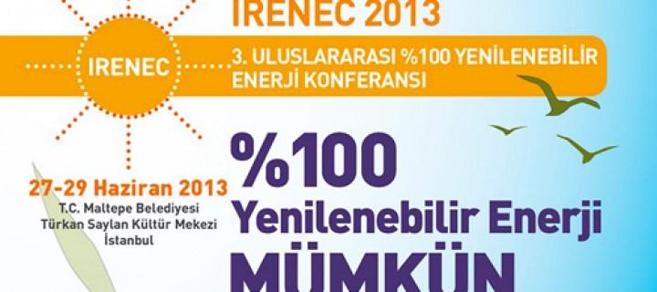 III. Uluslararası % 100 Yenilenebilir Enerji Konferansı
