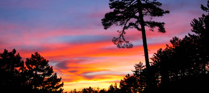 Melikler Yaylası'ndan Günbatımı