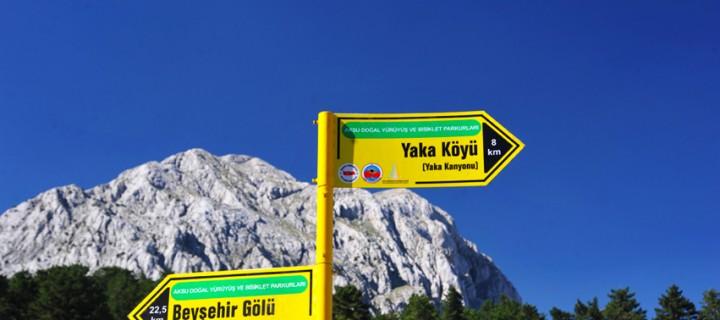 Aksu – Beyşehir Gölü Doğal Bisiklet Parkuru: 81 km