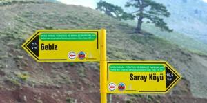 Gebiz'den Anamas'a Karakoyunların Göç Yolu: 135 km
