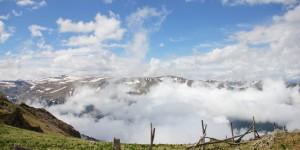 Altındere Vadisi Bulutlar Altında
