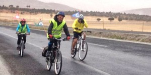 Akyaka Dayanışması'nın Bisikletlileri Ankara'ya Ulaştı