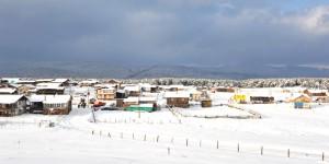 Bolu'ya Yılın İlk Karı Yağdı