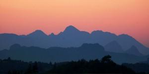 Pamfilya Dağları'nda Akşam