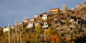 Barhal Vadisi Köy Yerleşimleri