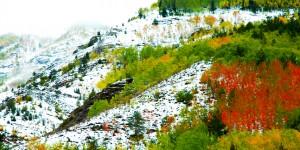 İmera Vadisi'nde Sonbahar Renkleri