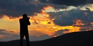 Maçka Dağlarında Güne Veda
