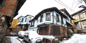 Cumalıkızık'ta Yılın İlk Karı -7