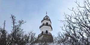 Zafer Kulesi Karlar Altında