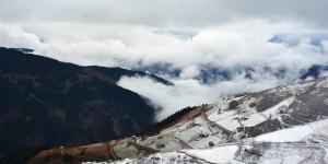 Meryemana Vadisi, Kar ve Bulutlar
