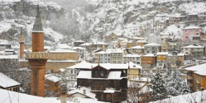 Mudurnu'da Kar