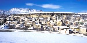 Karın En Yakıştığı Şehir; Safranbolu