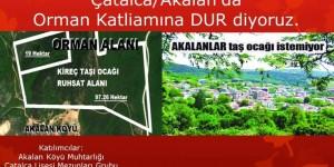 Akalan Köylülerinden Toplantı Çağrısı